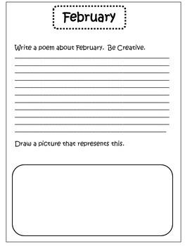 Morning Work Journal For February
