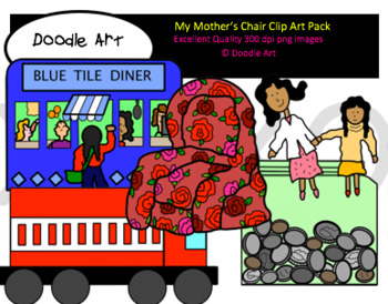 My Mother's Chair Clipart Pack