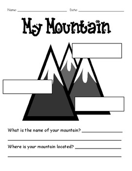 My Mountain - Mountain Parts