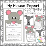 My Mouse Animal Report Craft