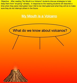My Mouth Is A Volcano (Behavior Management)
