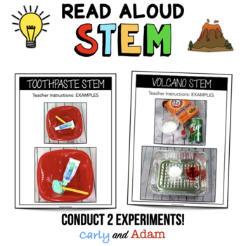 My Mouth is A Volcano READ ALOUD STEM™ Activity
