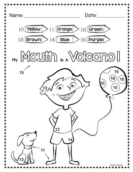 My Mouth Is A Volcano – Activity Ideas