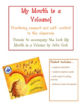 My Mouth is a Volcano- Practicing Self- Control in the Classroom