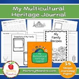 My Multicultural Heritage Journal