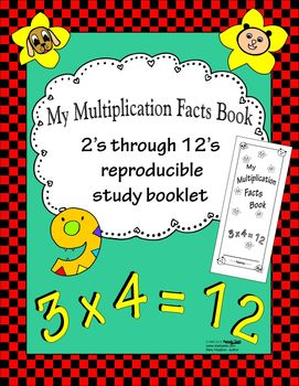 My Multiplication Facts Book