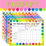 My Multiplication Passport - Colour me Confetti