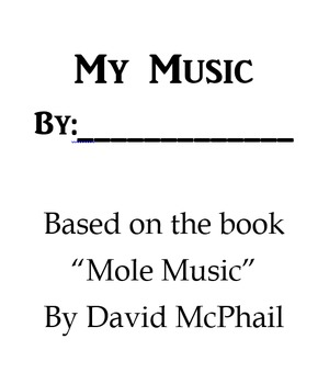 """My Music"" Book"