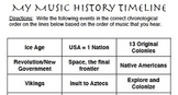 My Music History Timeline