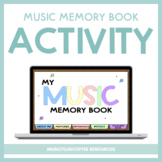 My Music Memory Book for Google Slides™ | Distance Learning