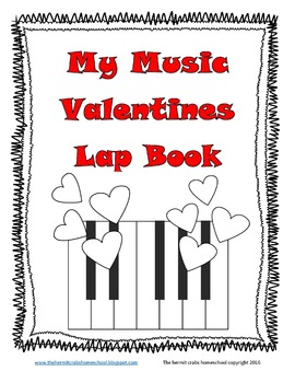 My Music Valentines Lap Book