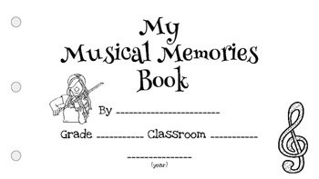 My Musical Memories Book