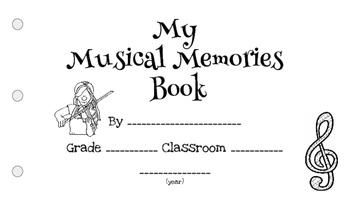 My Musical Memories Book