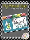 My Musical Style Tab Book - Back to School