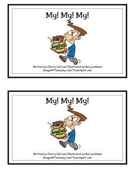 My! My! My! Word Family Guided Reader for -y