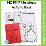 My NO PREP Christmas Activity Book