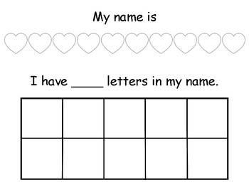 My Name Activity Sheet