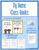 My Name Class Books! (Digital and Print Versions Included!)