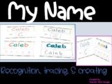 My Name- Editable Worksheets for PreK/Preschool