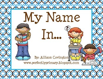 My Name In...
