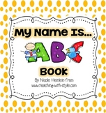 My Name Is... ABC Class Book