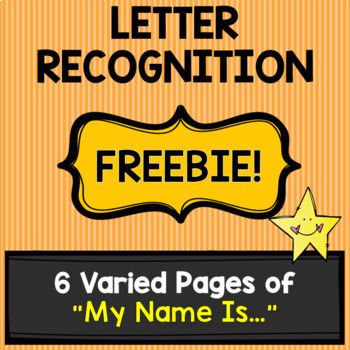 Letter Recognition [FREEBIE!]