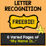 Letter Recognition [FREEBIE!]