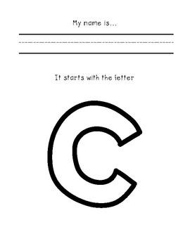 My Name Writing Practice