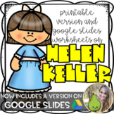 Helen Keller and Making Braille