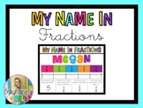 My Name in Fractions