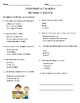 My Name is Gabriela Comprehension & Vocabulary Test (Journeys)