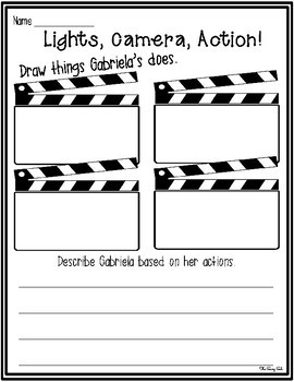 My Name is Gabriela: Journeys Unit 4 Lesson 18 Supplemental Resources