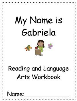 My Name is Gabriela ~ Language Arts Workbook ~ 2nd Grade ~ Journeys