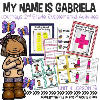 My Name is Gabriela Supplemental Activities