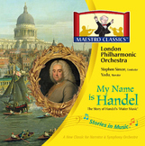 My Name is Handel: The Story of Water Music MP3 and Activity Book