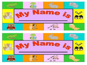 My Name is ... Labels