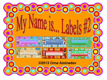 My Name is ... Labels #2