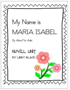 My Name is Maria Isabel- Novel Unit