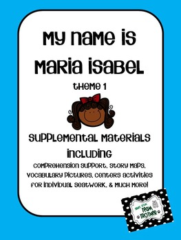 My Name is Maria Isabel - Supplemental Materials