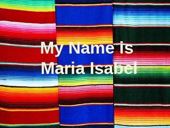 My Name is Maria Isabel Vocabulary Powerpoint