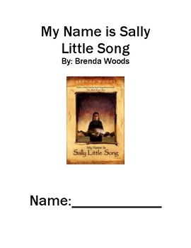 My Name is Sally Little Song by Brenda Woods