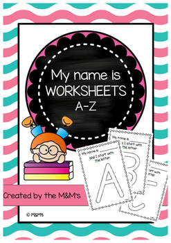My Name is Worksheets