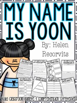 My Name is Yoon: Reading Comprehension Strategies