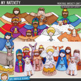 Christmas Nativity Craft (pre-coloured)