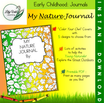 My Nature Journal from LilyVale Learning