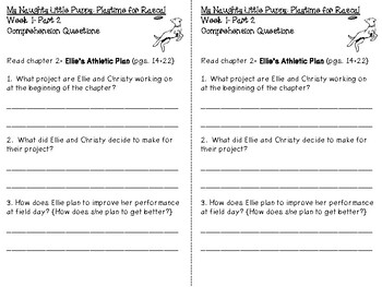 My Naughty Little Puppy Playtime for Rascal Book Club Activity Pack