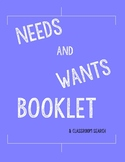 My Needs and Wants Booklet
