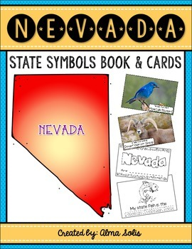 Nevada State Symbols (Book & Picture Cards)