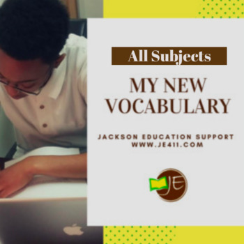 My New Vocabulary - Free Download