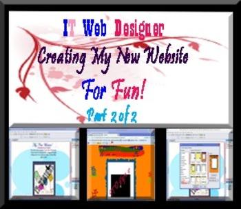 My New Website Tutorial 102 Part 2 of 2